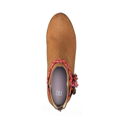 La Redoute Collections Frau Boots mit Flechtdetail Gre 42 Braun