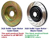 EBC Brakes GD7446 11.9 in. Diameter Brake Rotor Kit