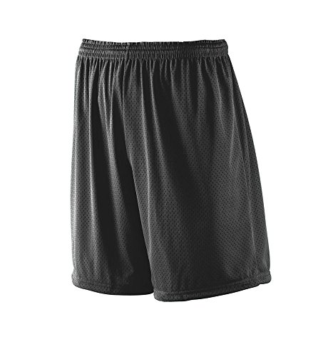 Augusta Sportswear Men's Tricot MESH Short/Tricot Lined 2XL Black ()