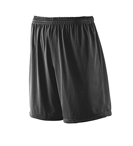 Augusta Sportswear Men's Tricot MESH Short/Tricot Lined 2XL Black