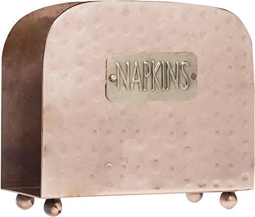 Home Essentials Napkin Holder Copper Finish (80978-HE) ()
