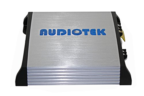Audiotek At810M Class Ab 1 Channel Mono 2 Ohm Stable 1200W Stereo Power Car Amplifier W/ Bass Control by Audiotek (Image #2)