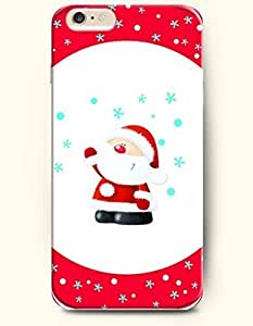 New Case Cover For Apple Iphone 4/4S Hard Case Cover - Adorable Santa Claus