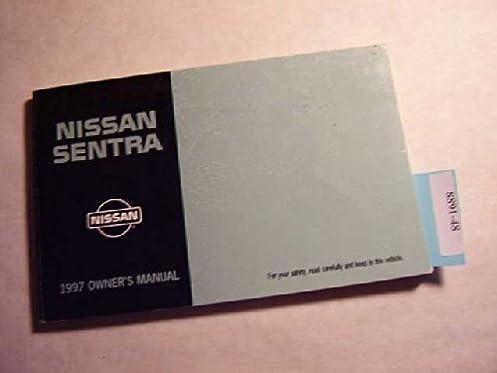 1997 nissan sentra owners manual nissan amazon com books rh amazon com 1997 nissan sentra service manual pdf 1996 Nissan Sentra