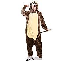 FashionFits Unisex Monkey Sleeping Wear Pajama Cosplay Party Onesie