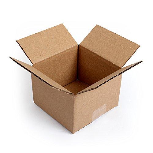 - Pratt PRA0008 100PK 100% Recycled Corrugated Cardboard Box, 6