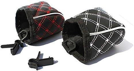 JenNiFer Car Storage Bag Tubbiness Hanging Style Rubbish Bin Car Interior Accessories Stowing Box Black