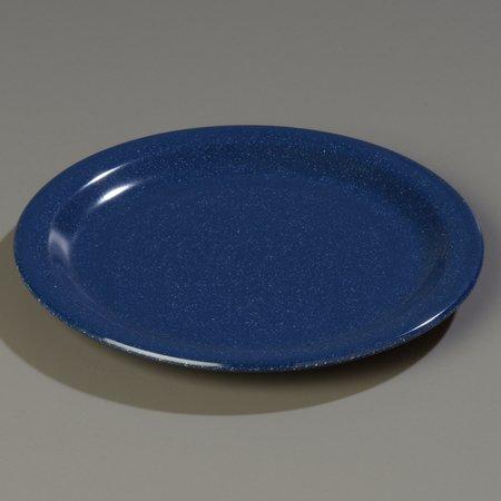 Carlisle 4350335 Dallas Ware Melamine Salad Plate, 7.19'' Diameter x 0.74'' Height, Café Blue (Case of 48) by Carlisle (Image #2)