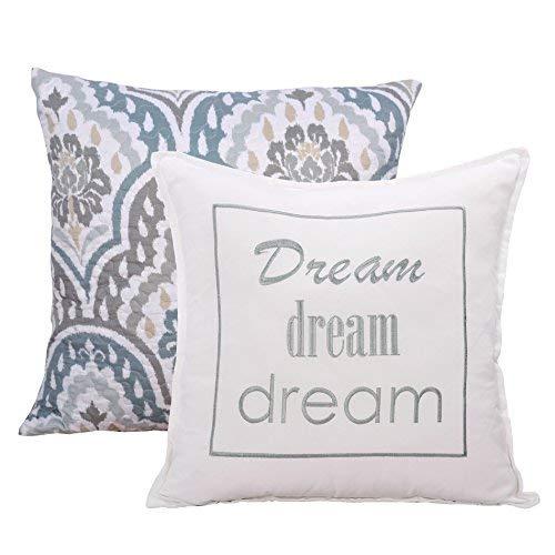 Home Soft Things Tivoli Ikat Throw Pillow Set: 20