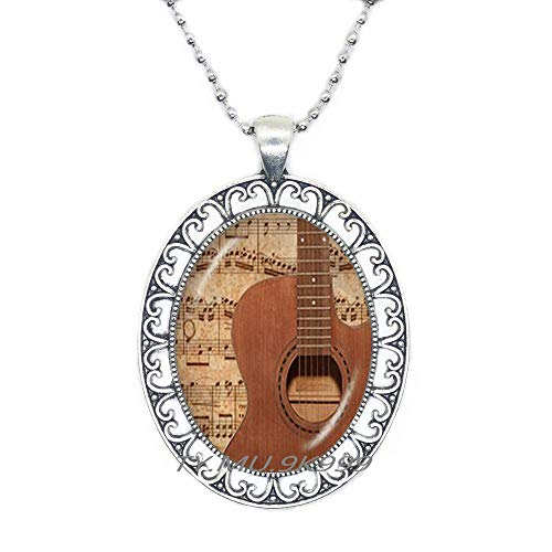 Yao0dianxku Violin Necklace,Charming Style Violinist Necklace,Viola Necklace,Violin Jewelry