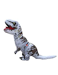 Tricandide Inflatable Dinosaur T-REX Adult Halloween Costume Cosplay