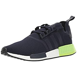 adidas Originals Men's NMD_R1 Running Shoe, Legend Ink/Legend Ink/hi-res Yellow, 5.5 M US