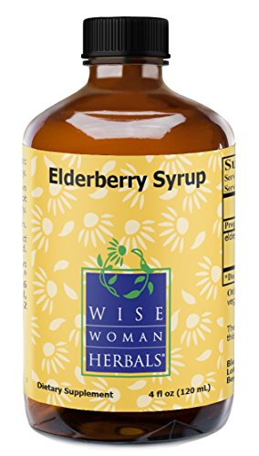 Wise Woman Herbals – Elderberry Syrup – 4 Oz – All-Natural Immune System Booster, Supports a Healthy Immune System During Cold, Flu and Fever Seasons, Strengthen Mucus Membranes and Respiratory Tract Review