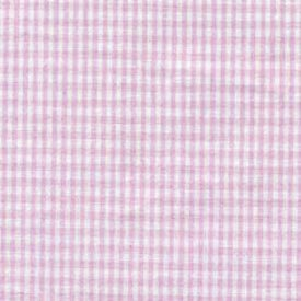Babydoll Gingham Cradle Sheet, Pink, 15''x33''