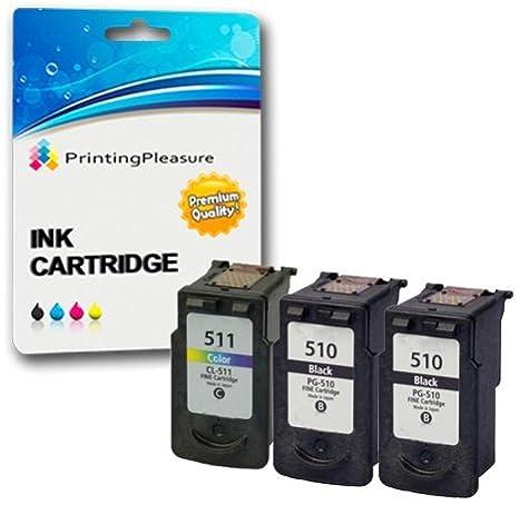3 Cartuchos de Tinta compatibles para Canon Pixma iP2700 ...