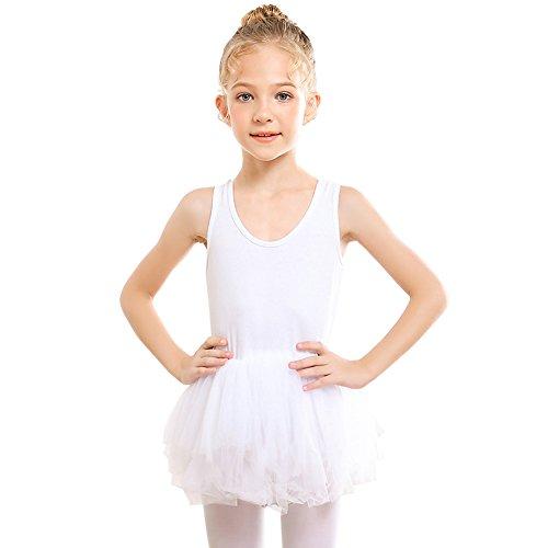 STELLE Ballet Dress Leotard Girls Toddlers Dance Skirt, Tag90 (3Y), ()