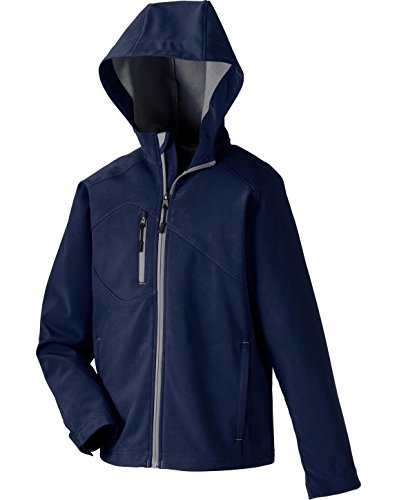 UPC 774582558500, North End ProspectYouth Soft Shell Jacket With Hood M CLASSIC NAVY 849