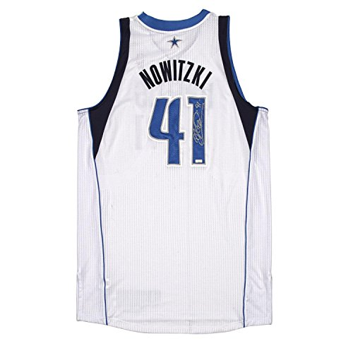 dcb1e9509d4 Dirk Nowitzki Autographed Game Worn Jersey from the 2011-2012 NBA Season  ~Limited Edition