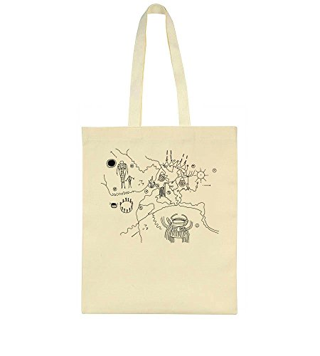 Bag Cave Design Map Owl Tote 17qIId