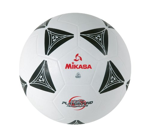 Mikasa S3010 Black And White Rubber Soccer Ball Size 4 - 49099 - Soccer Balls Rubber 49099
