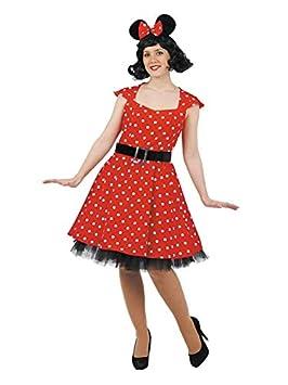 DISBACANAL Disfraz de ratoncita Mujer - Único, S: Amazon.es ...
