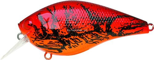 Lucky Craft LC2.5DRS-137 5/8-Ounce Crank Bait, Red Crawfish Finish
