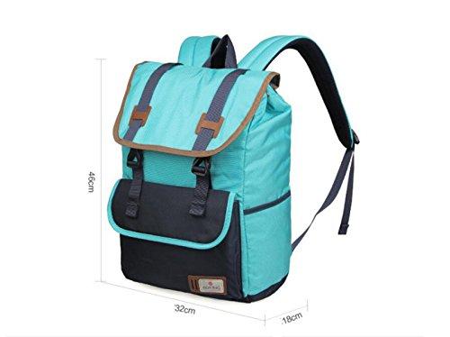 LQABW Umhängetasche Weibliche Sportreisetasche Student Tasche Rucksack Pink zTSRBf