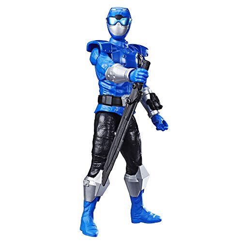 Power Rangers Beast Morphers 12″ Beast-X Blue Ranger Action Figure Toy Inspired by The TV Show