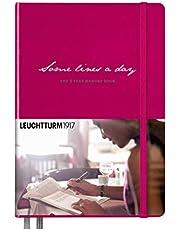 Leuchtturm 3597951917 Some Lines A Day A5 Medium Notebook Berry