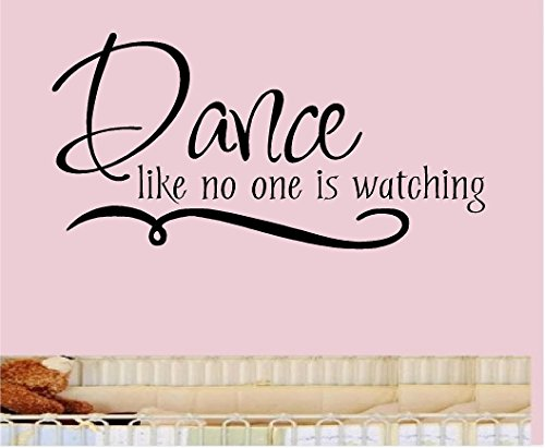 DANCE WATCHING Vinyl Sticker Letters product image