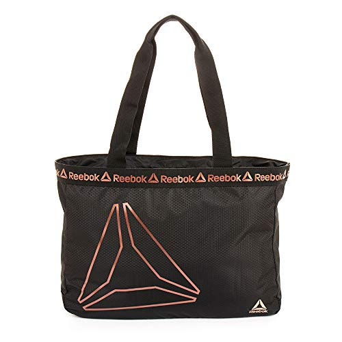 Reebok Bijou Tote Bag (Black w/Rose Gold)