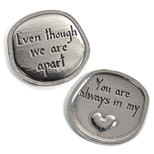 Crosby & Taylor You are Always in My Heart Lead-Free American Pewter Sentiment Coin