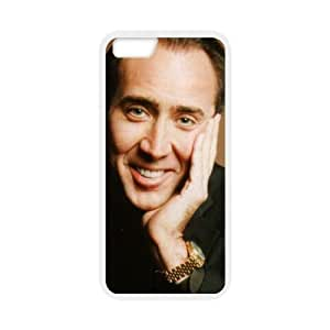 """At-Baby Custom Famous Actor Nicolas Cage Phone Case Protective Cover Cases For iPhone 6 4.7""""(Laser Technology) TT1 by Maris's Diary"""