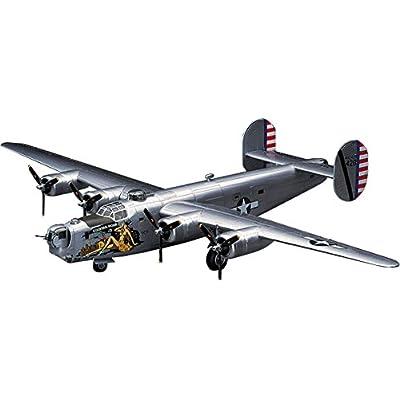 HAS01559 1:72 Hasegawa B-24J Liberator [MODEL BUILDING KIT]: Toys & Games