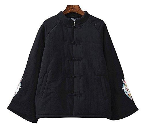 Lazutom - Abrigo - para mujer Negro