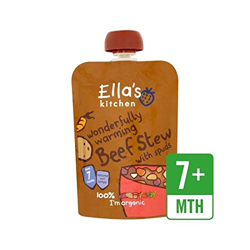 Ella's Kitchen Organic Beef Stew with Spuds Stage 2 130g - Pack of 2 Ella' s