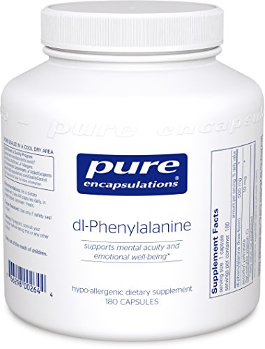 Pure Encapsulations DL Phenylalanine Hypoallergenic Supplement