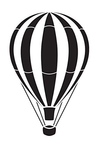 Air R12 (Vintage Hot Air Balloon - Art Stencil - STCL1261 by StudioR12 (9