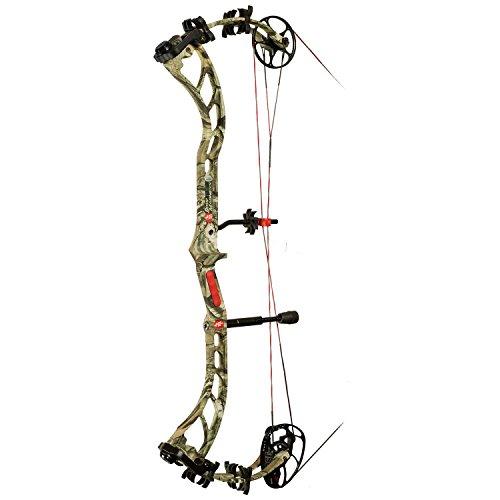 PSE Bow Madness Left Hand 3G Bow, 70-Pound, Mossy Oak Break