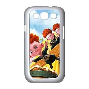 Brave Samsung Galaxy S3 9300 Cell Phone Case White KO2567855