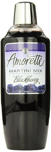 Amoretti Premium Martini Cocktail Mix, Blackberry, 28 (Two Hands Shiraz)
