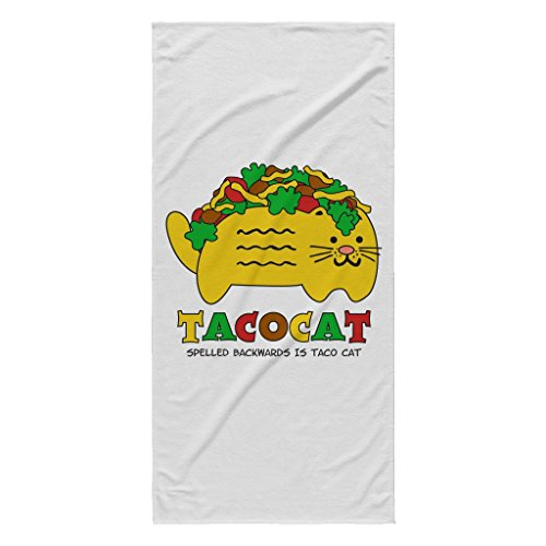 The League Taco Costume (Taco Cat Spelled Backwards is Taco Cat   Funny White 30