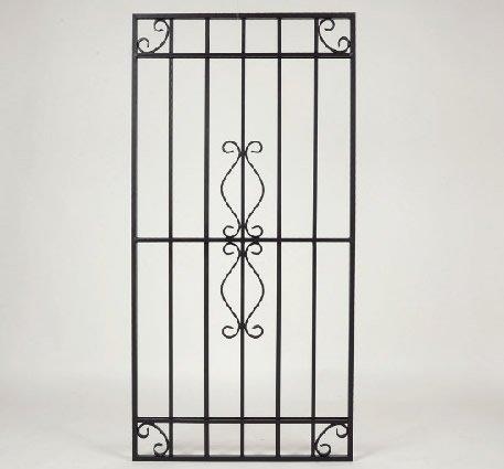 LLS ロートアルミ 装飾面格子 RAM01‐0613 650*1300 ブラック B072DTHRHZ 26600  ブラック