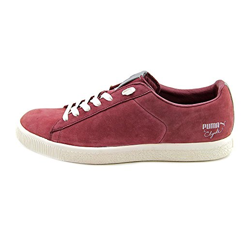 Clyde X Undefeated Luxe 2 In Bordeaux (collezione Stripe Off) Di Puma
