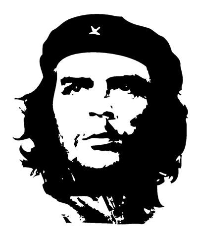Che Guevara Decal Sticker - Peel and Stick Sticker Graphic - - Auto, Wall, Laptop, Cell, Truck Sticker for Windows, Cars, Trucks