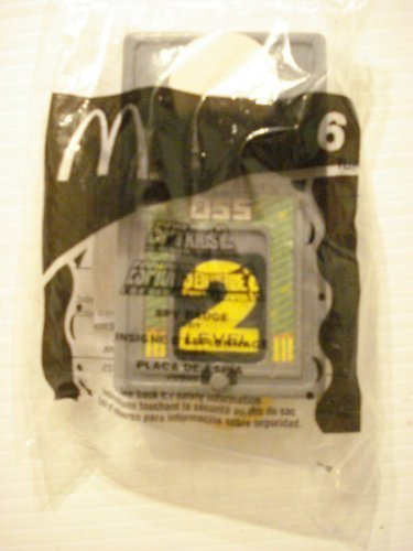 McDonalds Happy Meal Spy Kids 2 #6 Spy (Spy Badge)