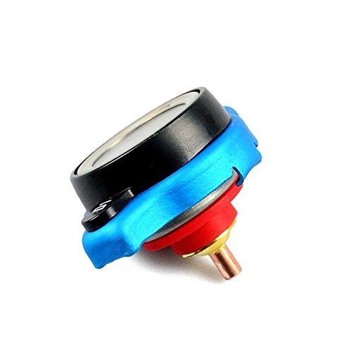 PerGrate Auto 16 PSI Thermostat Kü hlerdeckel Stahl Druck Bewertung Temperaturanzeige Abdeckung
