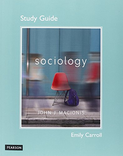 Study Guide for Sociology