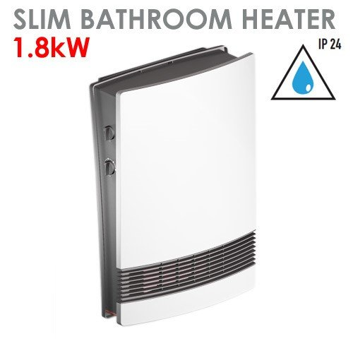bathroom electric heaters wall mount. 1800W Litho Bathroom Fan Heater With Adjustable Thermostat \u0026 Speed: Amazon.co.uk: Kitchen Home Electric Heaters Wall Mount H