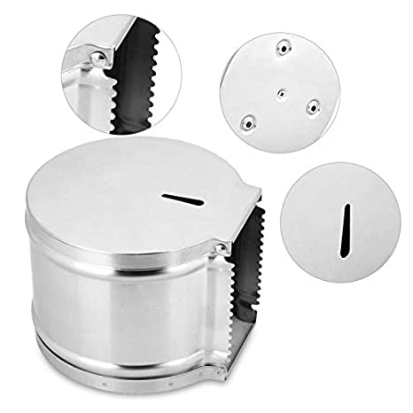 Amazon.com: Best Quality 304 stainless steel toilet paper box wall mounted bathroom paper tissue holder organizer dustproof toilet paper holder case: ...